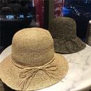 Korean hand hook raffia sunshade straw hat NHALD336024