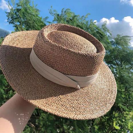 Sombrero de paja de la sombrilla del protector solar de la moda NHALD336026's discount tags