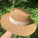 Fashion sunscreen sunshade straw hat NHALD336026