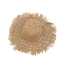 Fashion hollow sunscreen big brimmed foldable straw hat NHALD336027