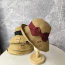 Fashion sunscreen folding fisherman straw hat NHALD336030