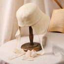 Fashion lace sunscreen straw fisherman hat NHALD336031