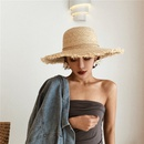 Fashion sunscreen big brim Raffia straw hat NHALD336042