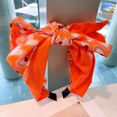 Korean bowknot heart printing headband NHHD336074