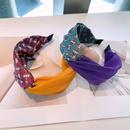 Korean contrast color headband  NHHD336077