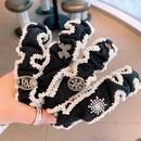 fashion bead twisted side hairband  NHHD336093
