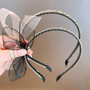 Korean organza big butterfly hair band  NHHD336096
