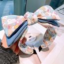 Korea bear color matching bow hair band NHHD336105