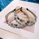 Retro pearl headband wholesale NHHD336108