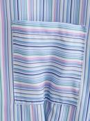 Fashion striped shirt slimming dress NHAM336131