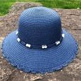 NHANS1555246-Lace-pot-hat-(navy-blue)-M-(56-58cm)