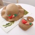 NHANS1555262-Khaki-Hat-plus-bag-(set)