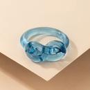 fashion creative blue resin ring NHGY336153