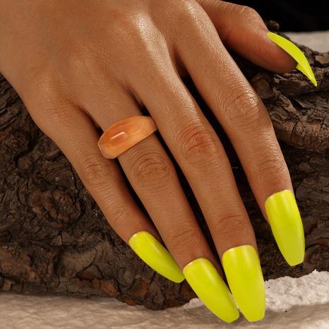 anillo de color degradado de resina creativa de moda NHGY336151's discount tags