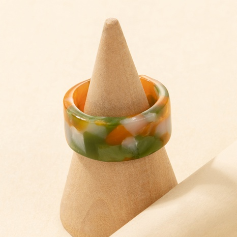 Fashion Creative Popular Color Resin Ring NHGY336148's discount tags