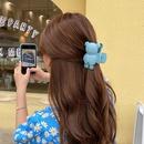 Korean Bear Hair Clip Wholesale NHCQ336214