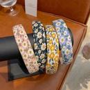 Korean floral daisy headband NHCQ336213