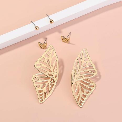 Mode hohle Schmetterlingsflügel Ohrringe NHAN336230's discount tags
