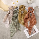 Fashion Long Ribbon Floral Hair Scrunchies NHPJ336239