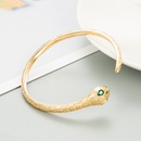 Fashion snakeshaped copper bracelet wholesale NHLN336258