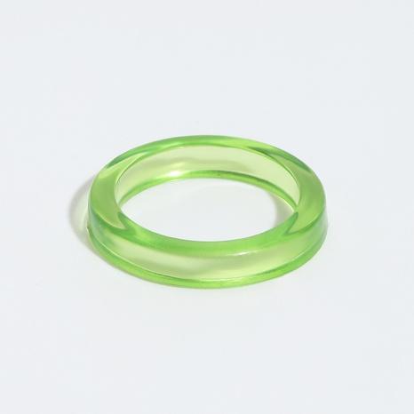 anillos de resina simples al por mayor NHJQ336283's discount tags