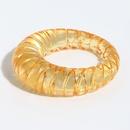 Retro transparent solid color resin ring  NHJQ336289