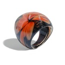 fashion color glass big ring  NHJQ336291