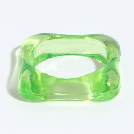 anillo de resina en forma de diamante de color hip-hop NHJQ336294's discount tags