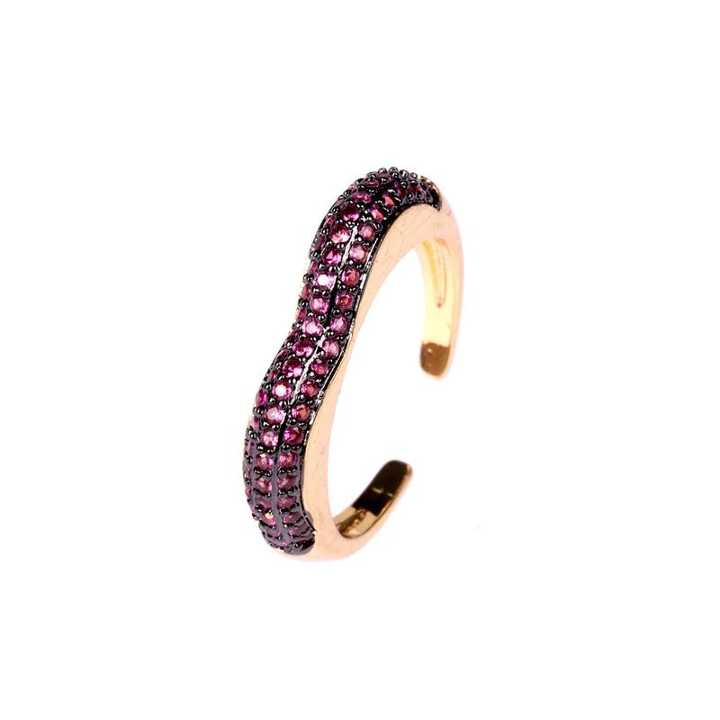 fashion heart open ring   NHPY336364