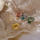 Korean acrylic gemstone ring NHMS336368