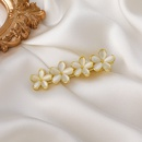 Korean opal flower spring clip  NHMS336374