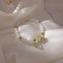 Fashion Opal Crystal Elastic Star Bracelet Wholesale NHMS336378