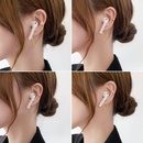 Fashion tassel wireless bluetooth headset copper antilost chain NHMS336383