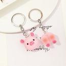 Fashion resin duck piggy key chain wholesale NHNZ336400
