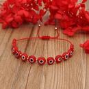 Fashion multicolor glass eye beads bracelet NHGW336403