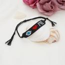 Fashion Miyuki beads heartshape woven eye bracelet NHGW336414