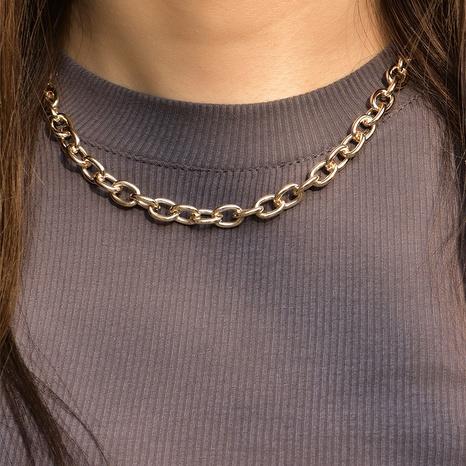 collar de cadena simple de moda NHAJ336775's discount tags