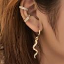 fashion snakeshaped earrings NHAJ336773