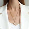 NHOK1556124-Golden-Nectarine-Heart-Necklace-52+5cm
