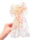 fashion net yarn childrens bowknot hairpin  NHNA336439