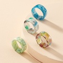 simple acrylic resin ring wholesale NHAI336468