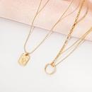 Fashion portrait alloy necklace set wholesale  NHAI336470