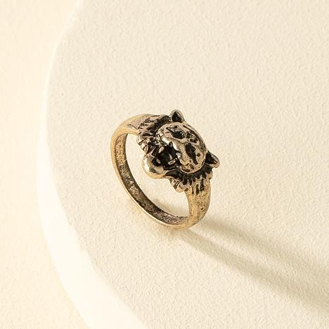 anillo de león hip-hop al por mayor NHQJ336483's discount tags