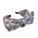 Fashion big bow wide side headband wholesale NHFS336486