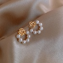 Petal Pearl Earrings NHOT336765