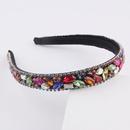 fashion colorful diamondstudded thin headband NHWJ336529