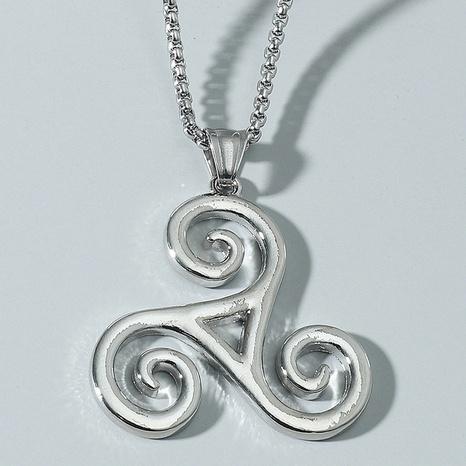Mode Wolf Junge Triskele Halskette Großhandel NHACH336534's discount tags