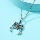 Punk Scorpion King Alloy Necklace Wholesale NHACH336536