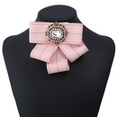 Retro rhinestone bow collar flower wholesale NHAYN336553