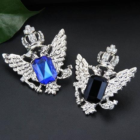 Broche couronne en strass à la mode en gros NHAYN336554's discount tags